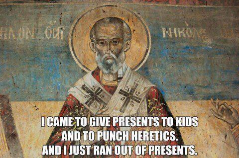 Saint Nicholas meme