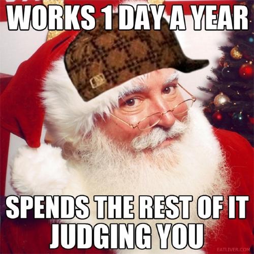 Santa Judges You
