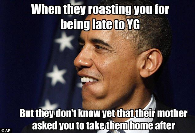 ride from YG christian meme