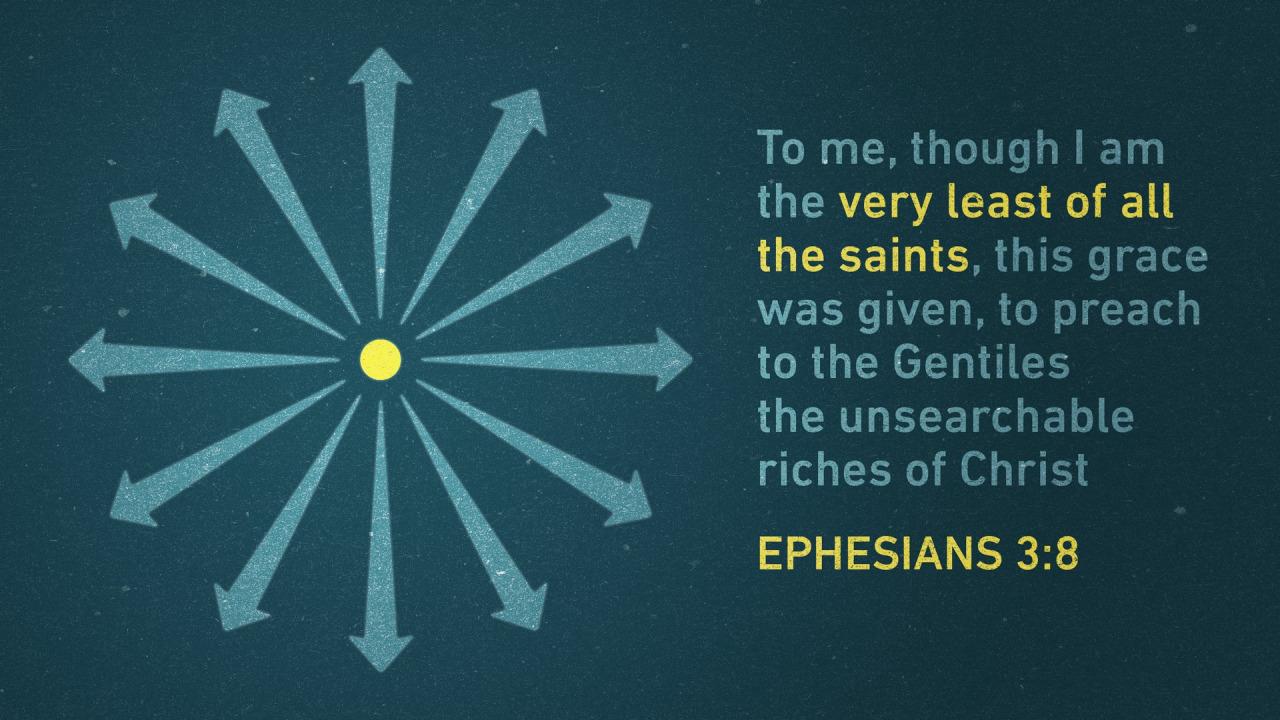 Ephesians 3.8