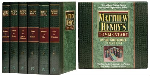 Matthew Henry Commentary Set