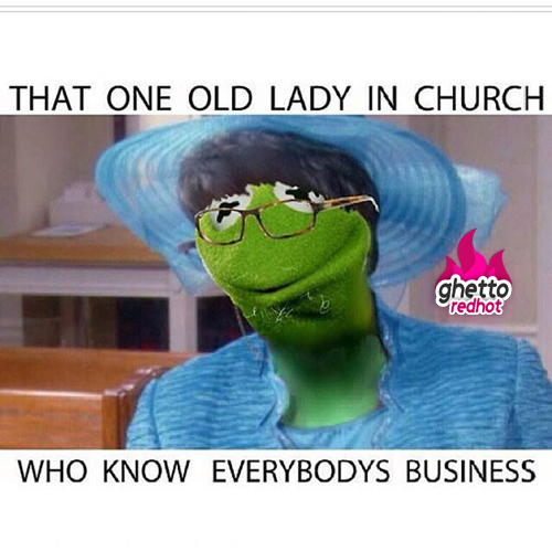 Old church lady meme