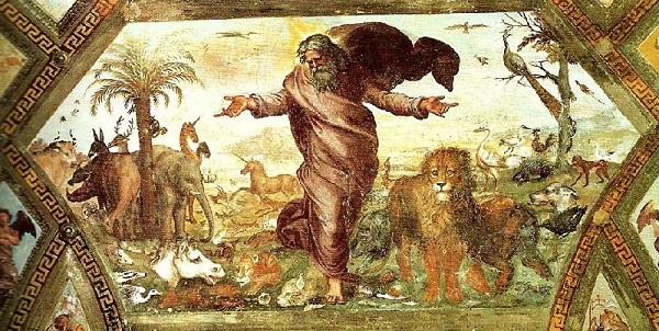 Raphael Creation Painting