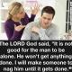 God made woman christian meme