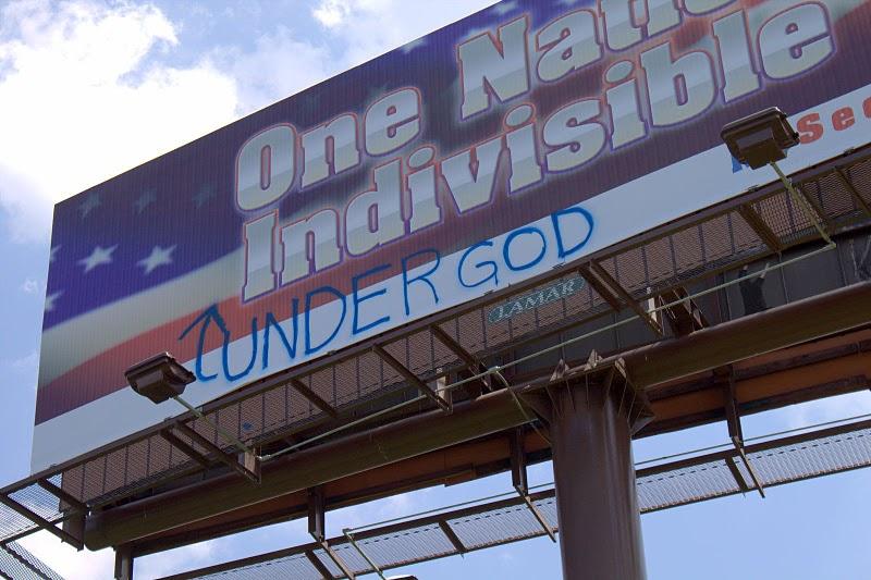 vandlized billboard