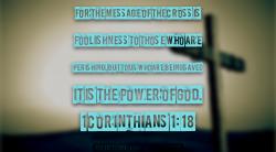 1 Cor 1:18