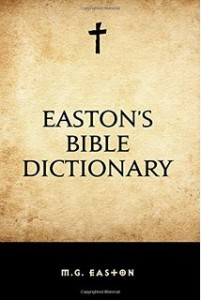 Eastons Bible Dictionary Cover