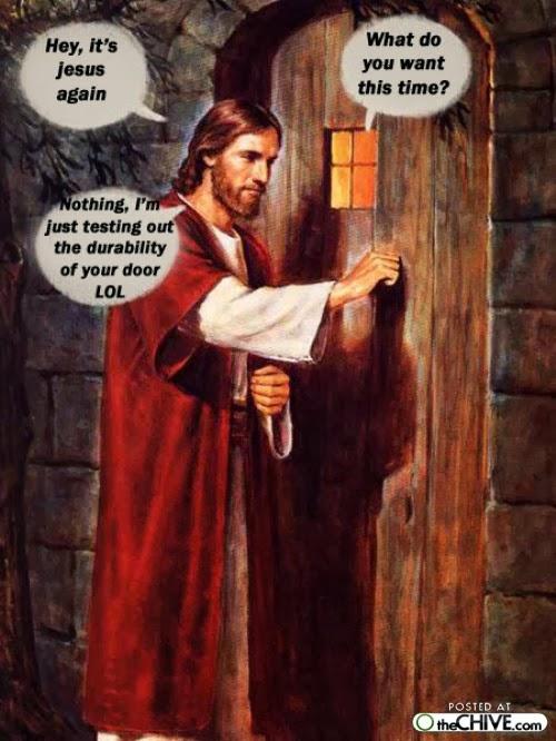jesus meme door christian memes monday bible christianmemes welcome dustoffthebible