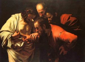 Doubting Thomas Painting