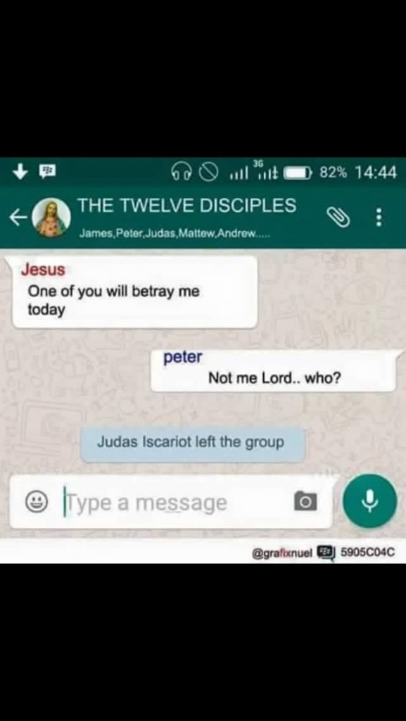 Jesus Betrayal Texts