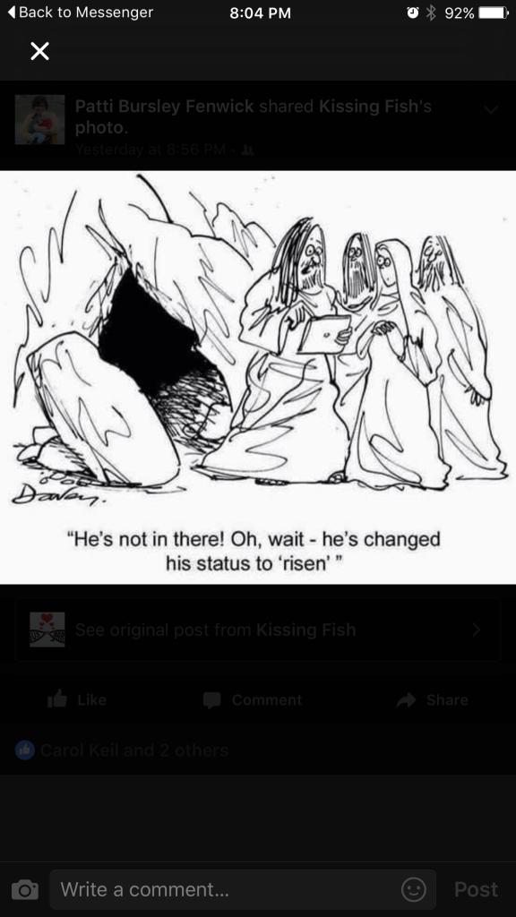 Jesus Facebook Easter Status