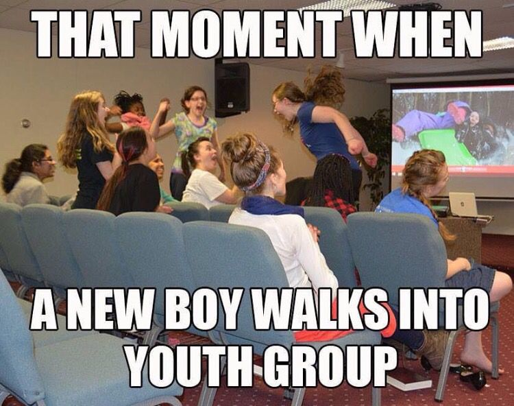 New Boy At Youth Group Meme