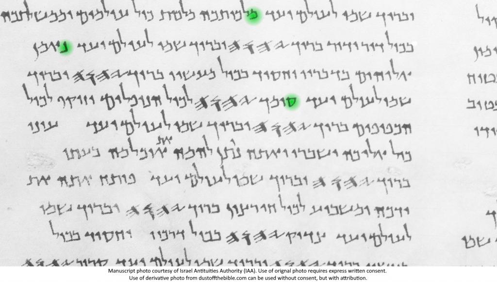 Nun Retained in the Dead Sea Scrolls, 11Q5 Psa 145
