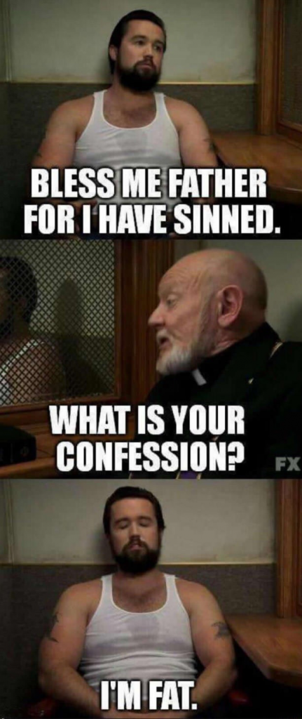 What Is Your Confession Meme