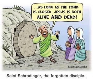 schrodinger's Tomb Easter Meme
