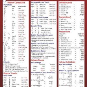 Biblical-Hebrew-Laminated-Sheet-Zondervan-Get-an-A-Study-Guides-0