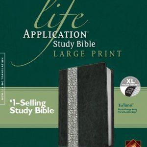 Life-Application-Study-Bible-NLT-Large-Print-Floral-TuTone-0