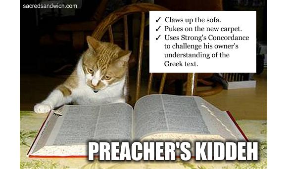 Pastor's kids meme