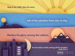 Psalm 96:2-3