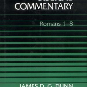 Word-Biblical-Commentary-Volume-38A-Romans-1-8-0