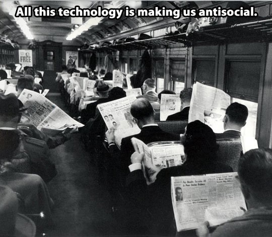 All this technology meme