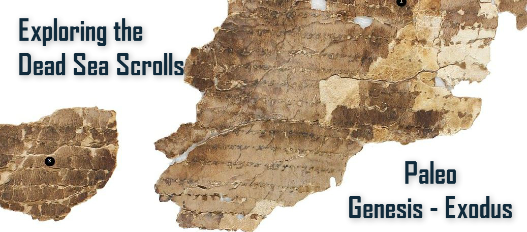 Dead Sea Scrolls Plate 402 B-496254 Header