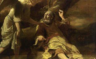 Elijah Fed by an Angel 1660-63