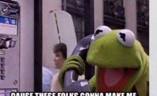 Kermit needs to talk to Jesus