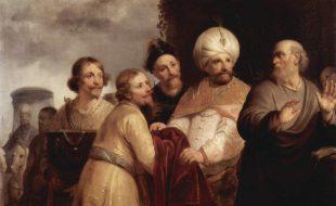 Pieter Fransz de Grebber Elisha Refusing Gift From Naaman