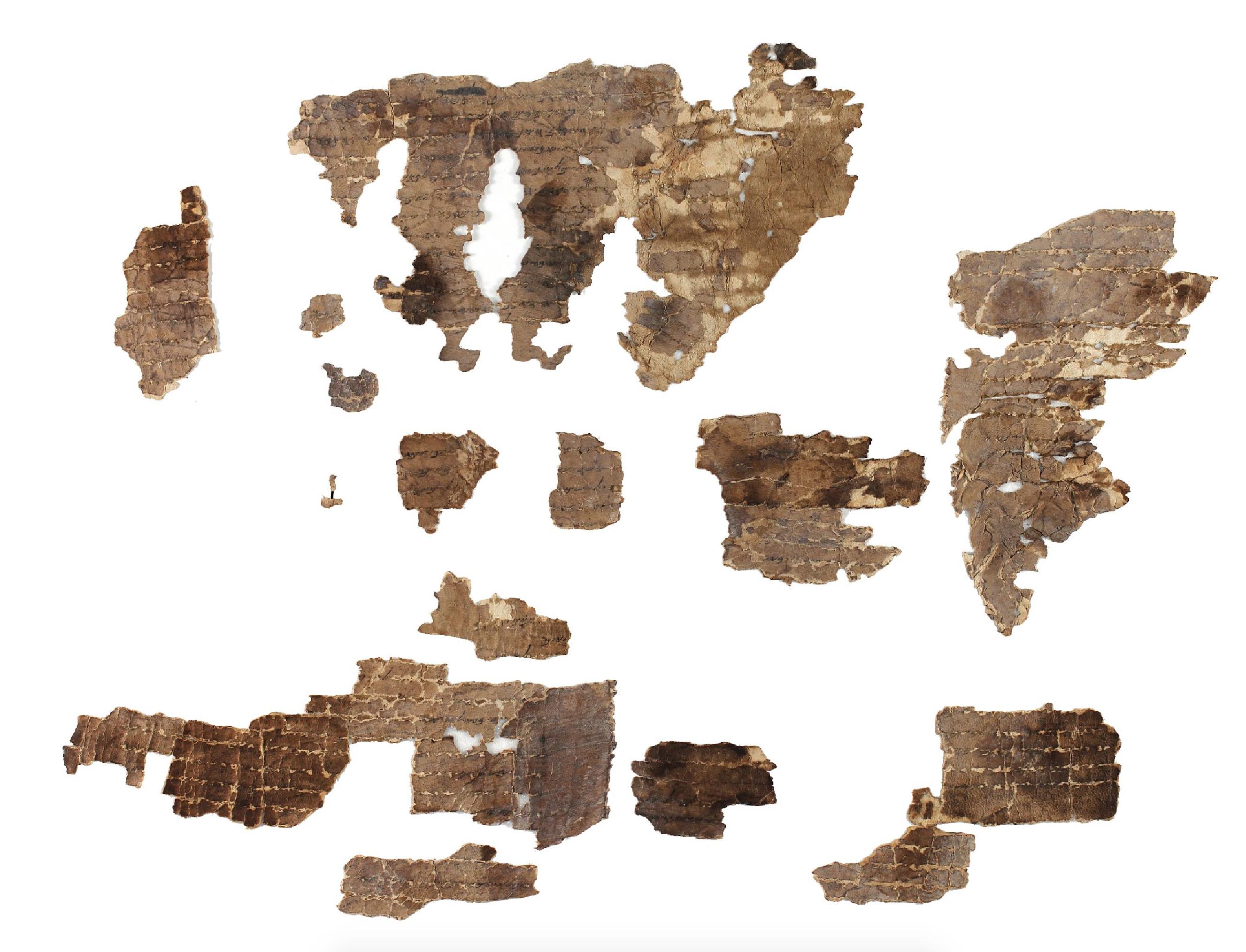 Plate 422 Dead Sea Scrolls