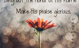 Psalm 66:2