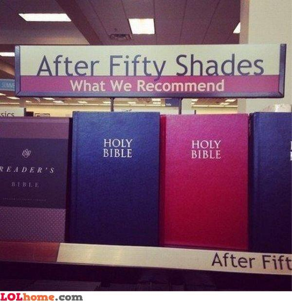 Recommended reading after 50 Shades of Gray