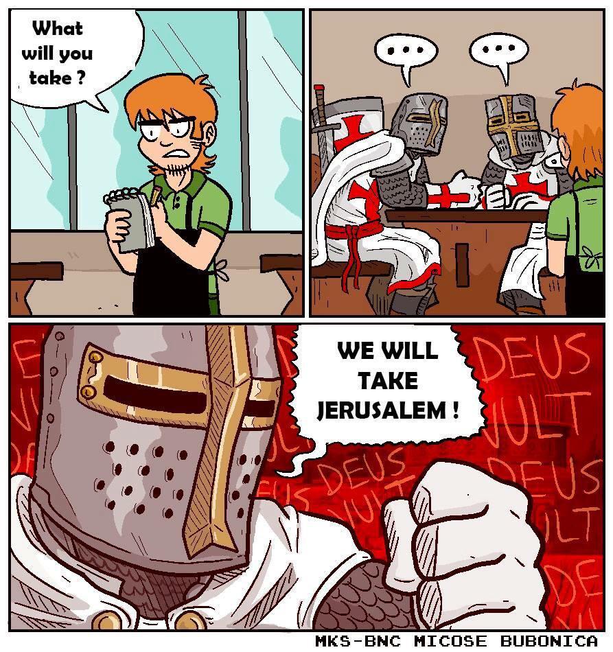 Crusaders meme