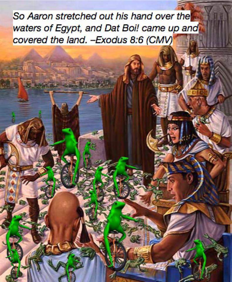 Dat boi plague