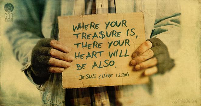 Luke 12:34