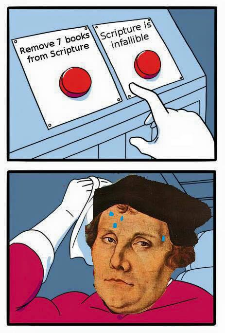 Martin Luther Bible meme
