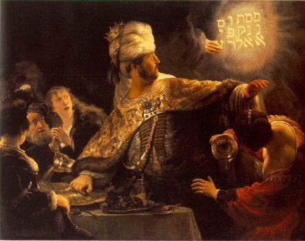 Rembrandt Belshazzars Feast