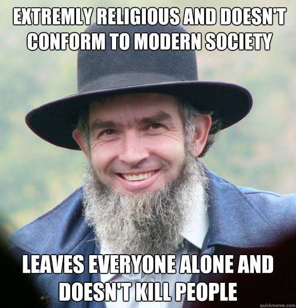 Amish war meme
