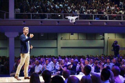 Bible drone testing