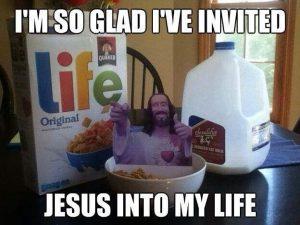 I've invited Jesus to my life
