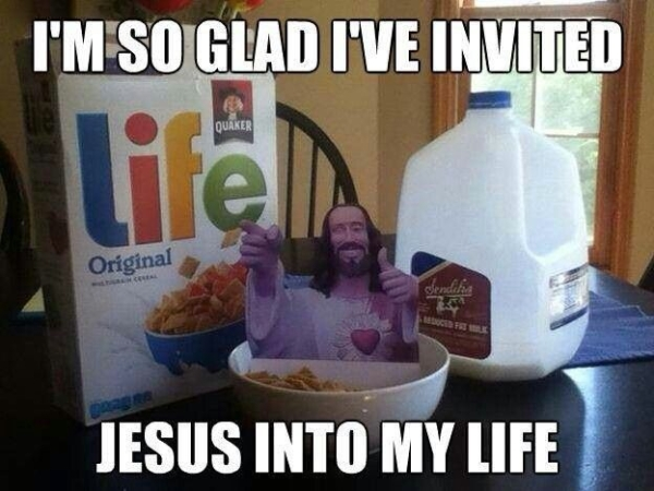 I've invited Jesus to my life