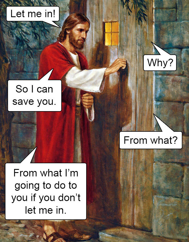 Jesus at the door again