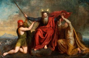 Brigstocke, Thomas, 1809-1881; Moses with His Arms Supported by Aaron and Hur