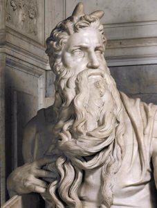 Moses statue, Michelangelo (1513-16)