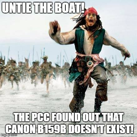 PCC canon missing meme