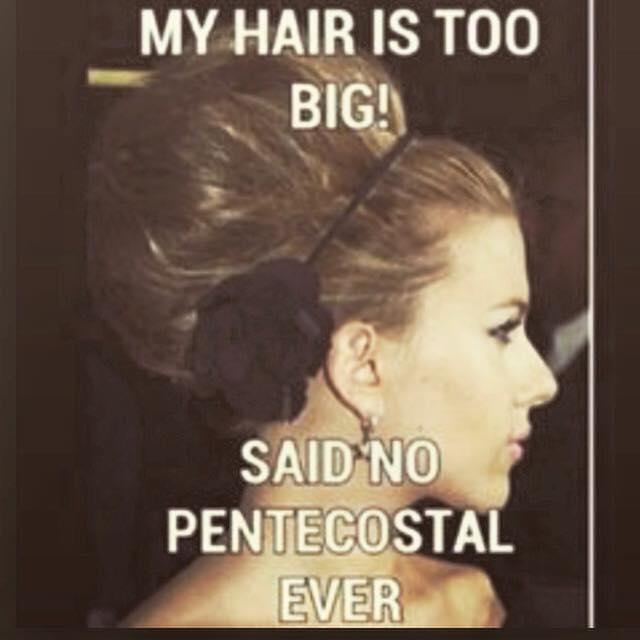 Պենտեկոստալ մազերը