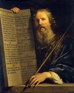 Philippe de Champaigne, Moses with the Ten Commandments