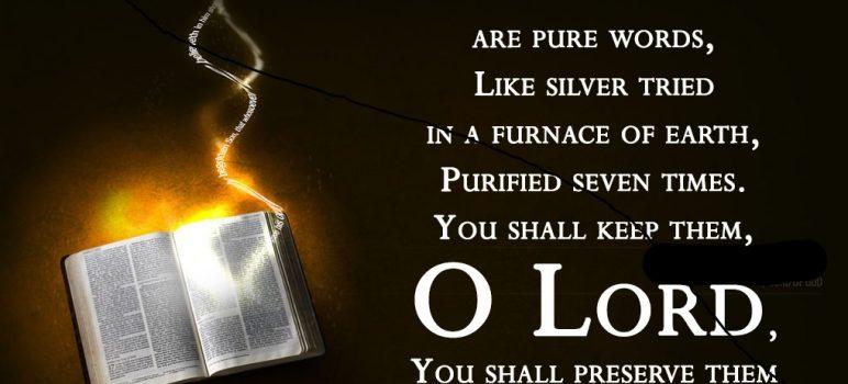 Psalm 12.6-7