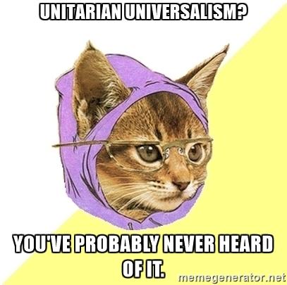 Unitarian cat գլխարկը