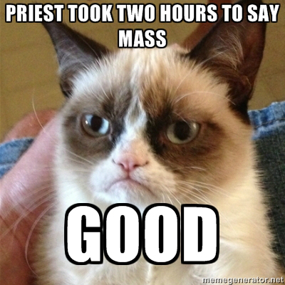 two hour mass meme
